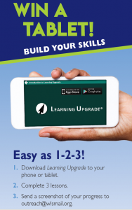 Click here to navigate to the Learning Upgrade page.