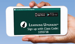 Click this images to launch Learning Upgrade