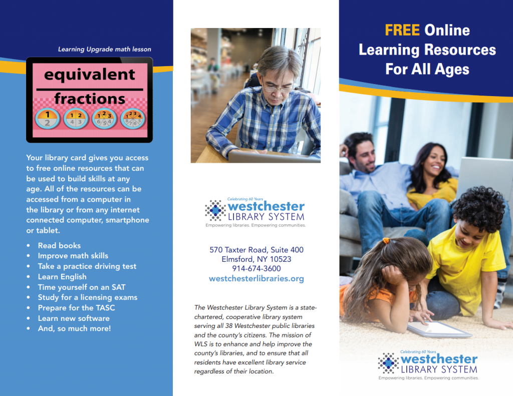 Click here to download PDF of the Online Learning Resources brochure
